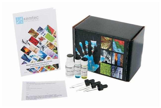 Kemtec™ Blood Typing with Saliva Kit<img src=