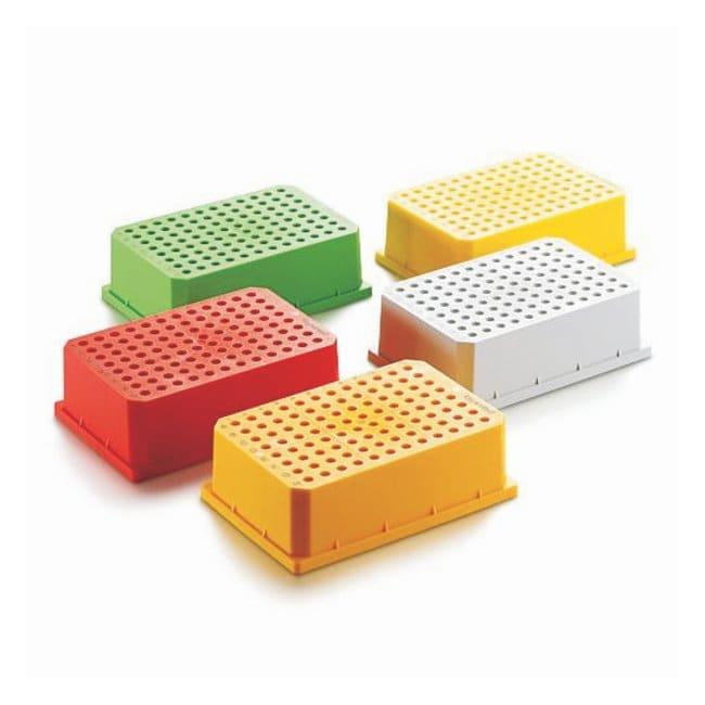 Eppendorf™Stackable PCR Racks PCR rack for 96-well plates and tubes 0.1, 0.2 and 0.5mL; 10/Pk. Microtube Racks