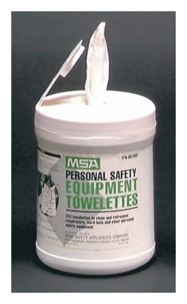 MSA™ Personal Safety Equipment Towelettes