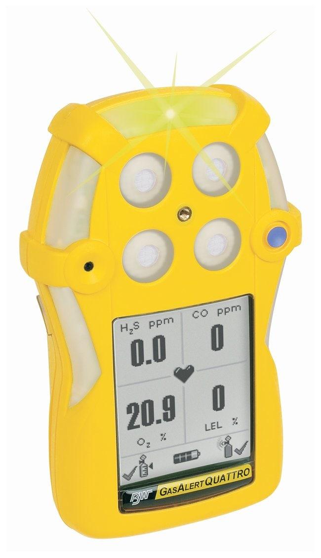Honeywell Analytics GasAlertQuattro Single-Gas Detectors Alkaline version;