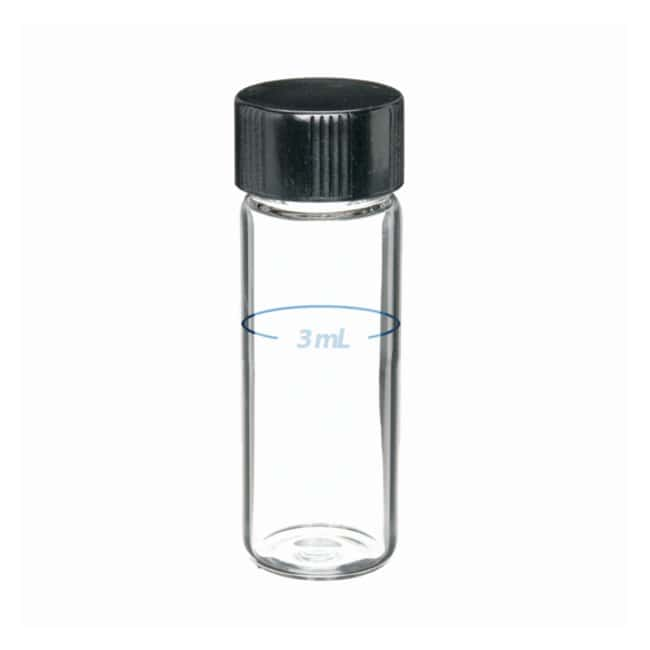 DWK Life Sciences Dilution Vial 4mL in LAB FILE with cap( VE=144ST ) Verdünnungsfläschchen, Kapazität: 4 ml Allgemeine Probenfläschchen