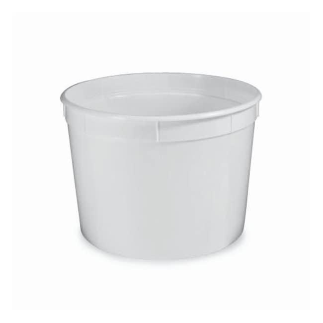 Globe Scientific Multi-purpose Containers with Lids Capacity: 8oz. (240mL);