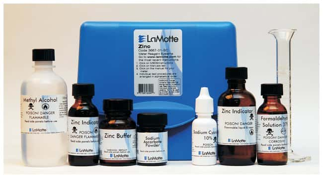 LaMotte SMART Spectro Spectrophometer and SMART 3 Colorimeter Reagent Systems
