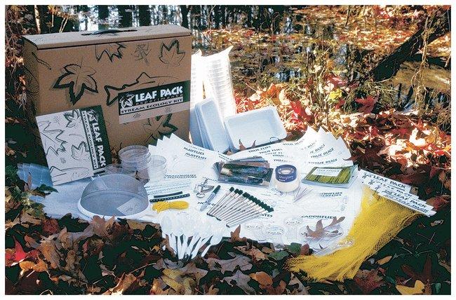 LaMotte Leaf Pack Experiments Stream Ecology Testing Kit :Teaching Supplies:Environmental