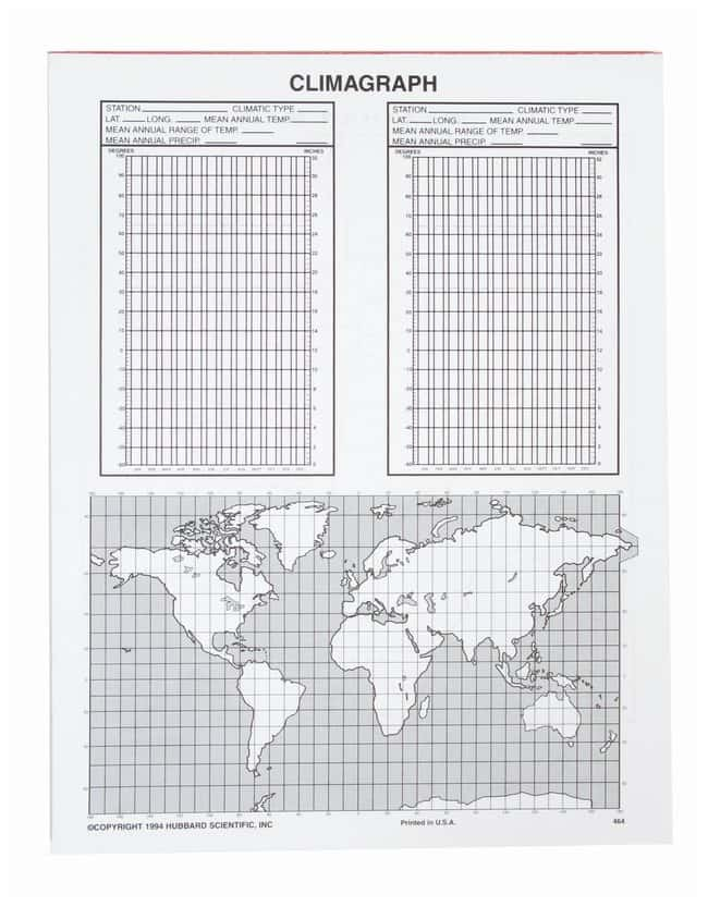 American Educational Products Weather Map/Plotting Chart