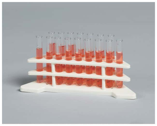 Bel-Art SP Scienceware Tiered Test Tube Rack, Autoclavable Double tiered