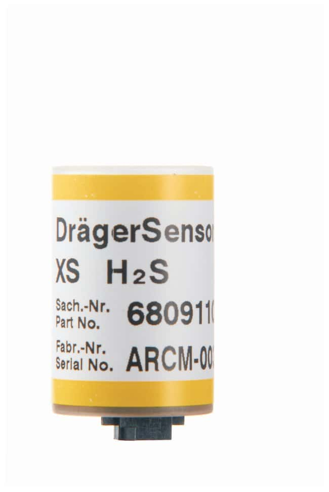 Dräger™ Pac™ III Sensors Hydrogen Sulfide; Maximum range: 0 to 100ppm; Resolution: 1ppm Dräger™ Pac™ III Sensors