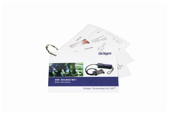 Drger Civil Defense Simultest Kit: Test Sets CDS Test Set I:Gloves, Glasses