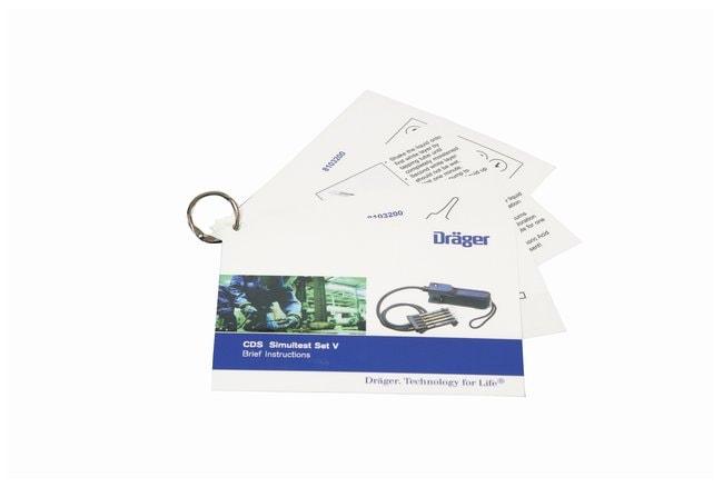 Drger Civil Defense Simultest Kit: Test Sets CDS Test Set V:Gloves, Glasses