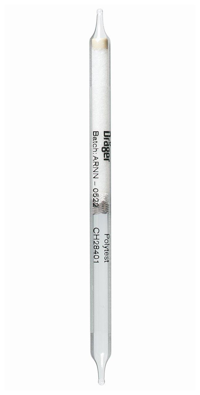 Dräger™Short-Term Detector Tubes: Polytest Screening Tube Polytest screening tube; Measuring range: Qualitative Gas Detection Tubes
