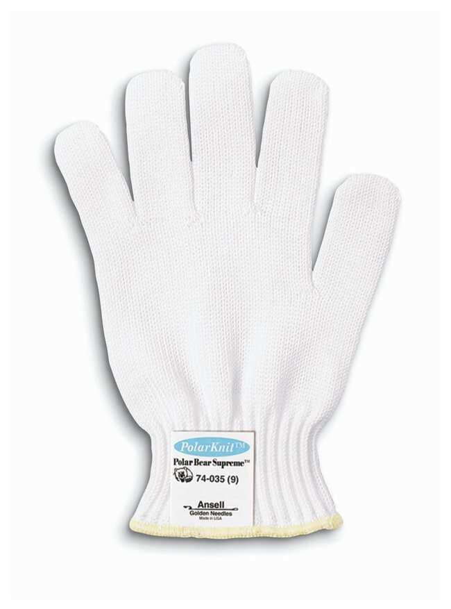 Ansell Polar Bear Plus 35 Gloves Wrist Color: Blue; Size: Large:Gloves,