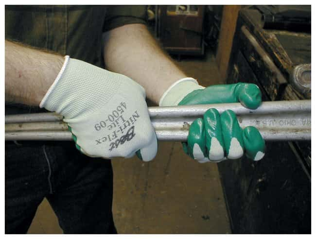 SHOWA Nitri-Flex Lite and Nitri-Flex Plus Nitrile-Coated Gloves Nitri-Flex