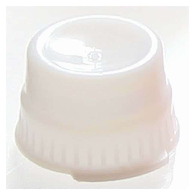 Globe Scientific Snap Caps with Single Thumb Tab for 13mm Tubes White (code
