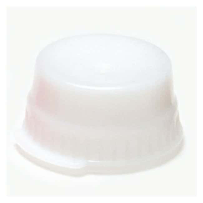 Globe Scientific Snap Caps with Single Thumb Tab For 16mm Tubes White (code