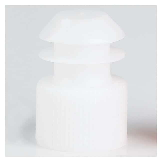 Globe Scientific Flanged Plug Caps For 16mm Tubes White (code W):Beakers,