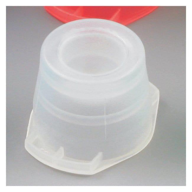 Globe Scientific Universal Snap Caps Natural (code C):Beakers, Bottles,