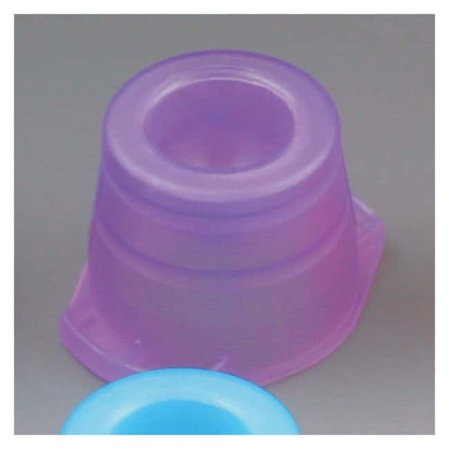 Globe Scientific Universal Snap Caps Lavender (code L):Beakers, Bottles,