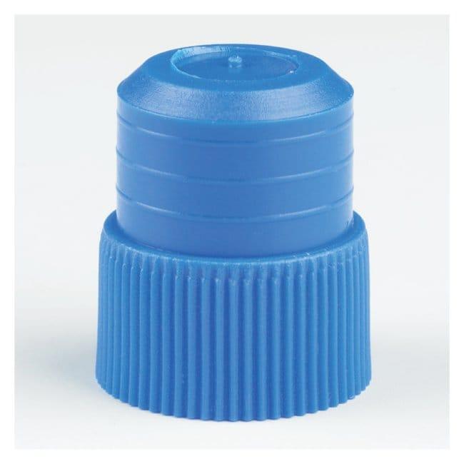 Globe Scientific Polyethylene 16mm Plug Stoppers Size: 16mm; Color: Blue:Centrifuges