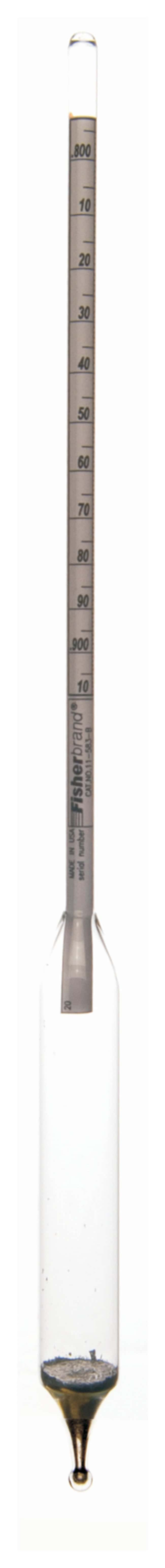 Fisherbrand Replacement Hydrometers for FBA11582 Precision Specific Gravity