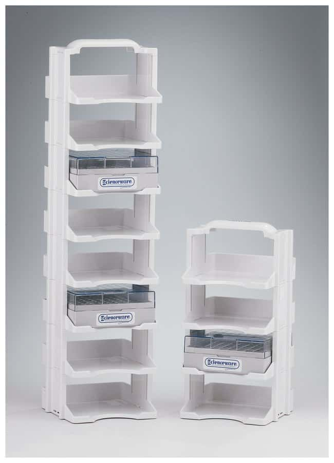 Bel-Art SP Scienceware Cryo Tower Storage Systems 8 levels:Racks, Boxes,