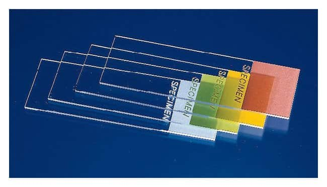 Fisherbrand ColorFrost Disposable Microscope Slides 25 x 75mm; Frost Color: