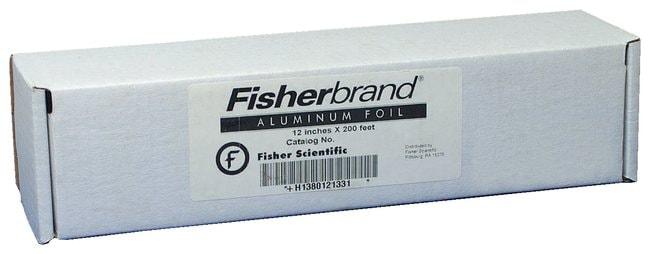 Fisherbrand Aluminum Foil, Standard-Gauge Roll::