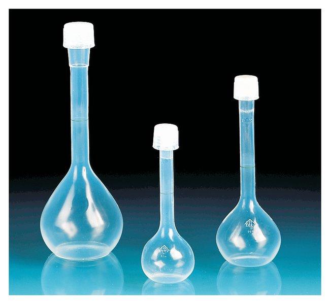 BrandTechClass A Volumetric PFA Flasks with Screw Caps:Flasks:Volumetric