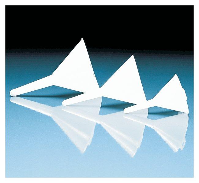 BrandTech™Polypropylene Funnels Diameter: 75mm; Length: 110mm BrandTech™Polypropylene Funnels