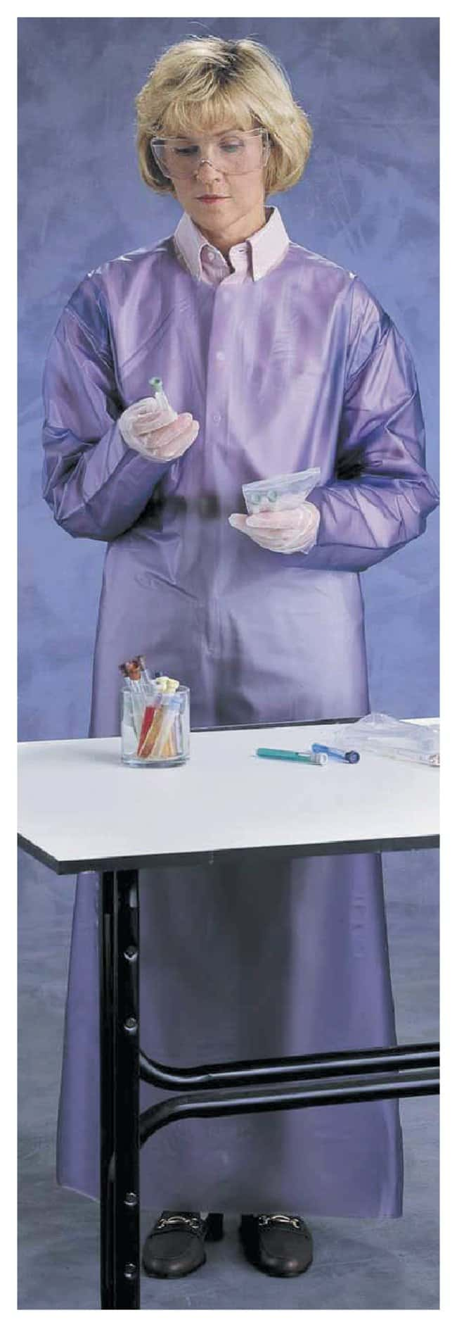 Ansell AlphaTec 56-910 Vinyl Closed-Back Aprons With Snap-on Ties:Gloves,