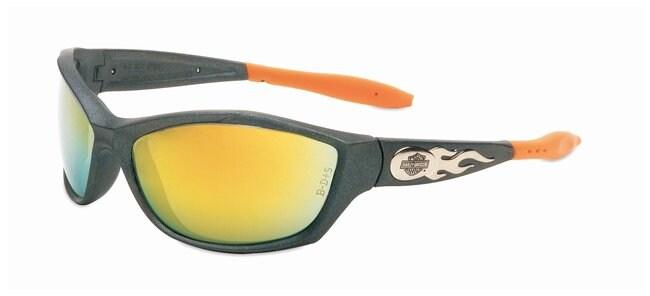Honeywell Uvex HD1000 Harley-Davidson Safety Glasses With orange mirror