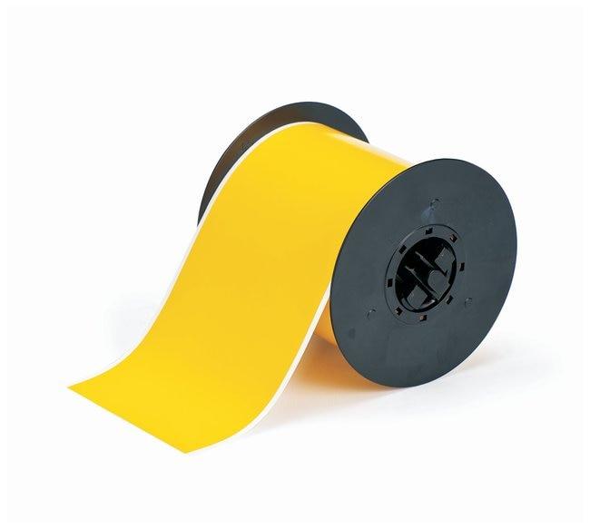 Brady™BBP™ Polyesterband mit hoher Leistungsfähigkeit Gelb; 4Zollx100Fuß Brady™BBP™ Polyesterband mit hoher Leistungsfähigkeit