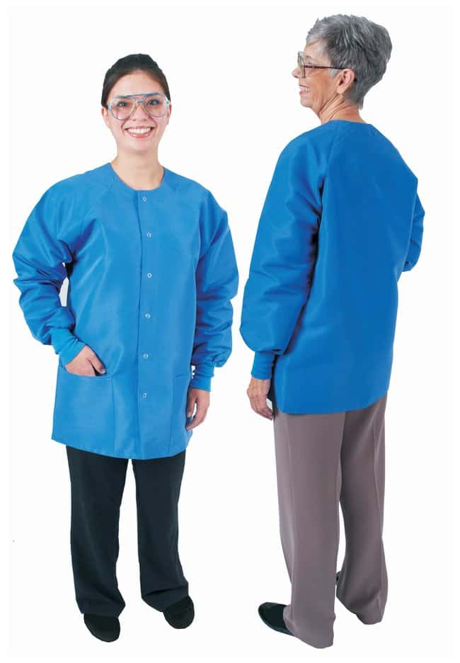 DenLine Protection Plus Fluid-Resistant Ladies Short-Length Lab Jackets