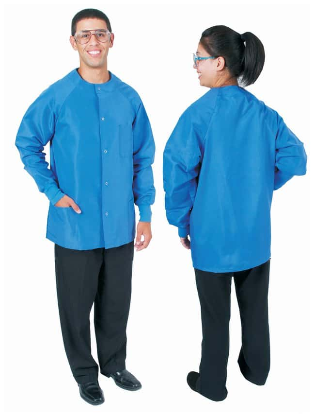 DenLine Protection Plus Fluid-Resistant Short-Length Lab Jackets Size:
