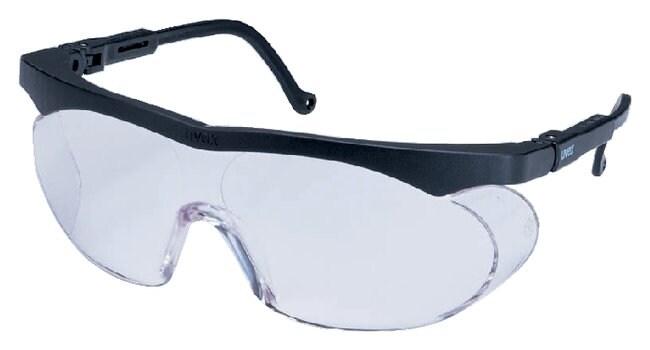 Honeywell Uvex Skyline Safety Glasses Black Frame; Clear lens; UD coating:Gloves,