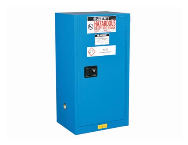Justrite Sure-Grip EX Compac Hazardous Material Steel Safety Cabinet:Fume