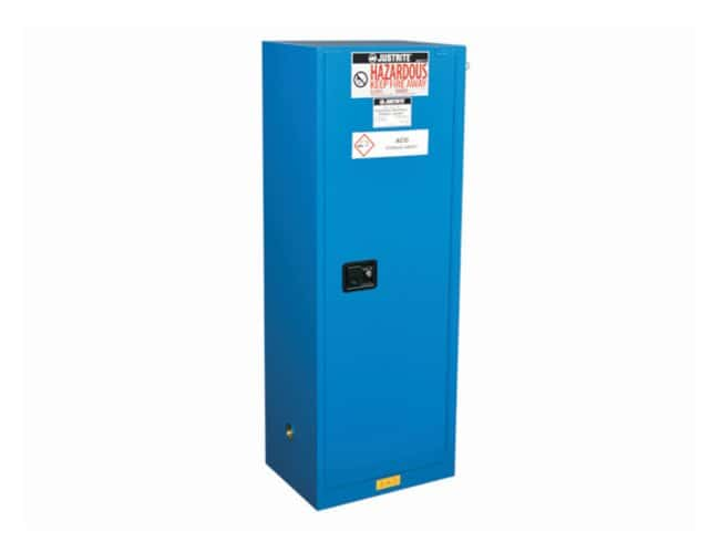 Justrite Chemcor Lined Slimline Safety Cabinets for Hazardous Materials