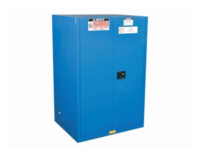 Justrite Sure-Grip EX Hazardous Material Steel Safety Cabinet 2 shelves;