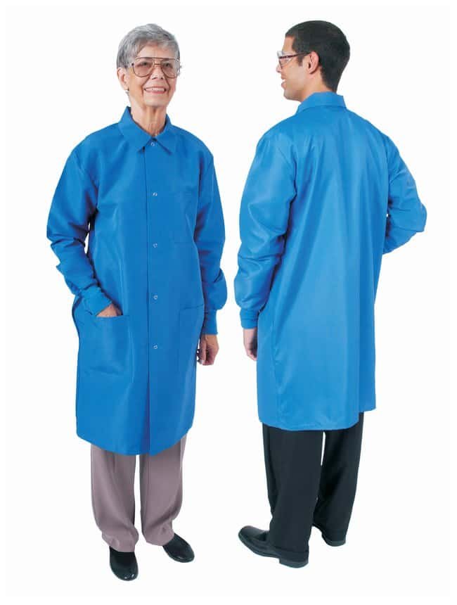 DenLine Protection Plus Fluid-Resistant Long-Length Lab Coats Size: 3X-Large;