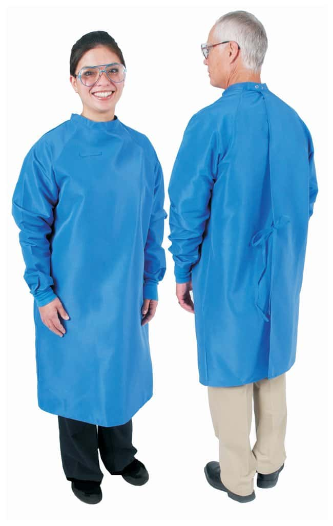 DenLine Protection Plus Fluid-Resistant Long-Length Gowns Length: 41 in;