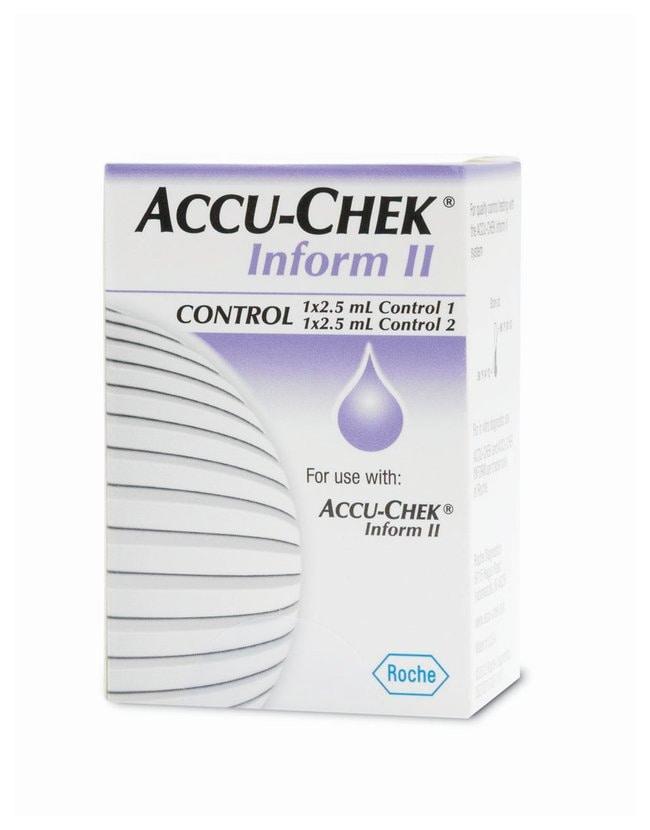 Roche DiagnosticsACCU-CHEK Inform II Controls Control pack:Diagnostic Tests