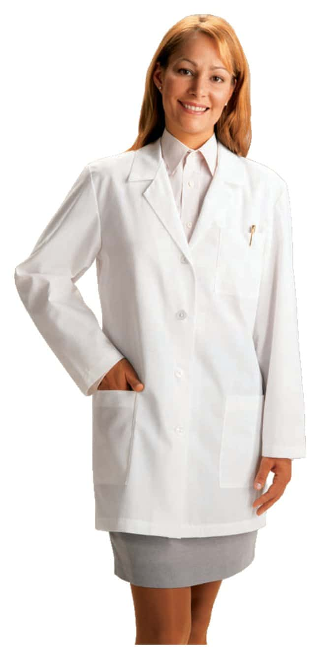 White SwanMeta fundamentals Ladies 33 Inch Lab Coat Small:Personal Protective
