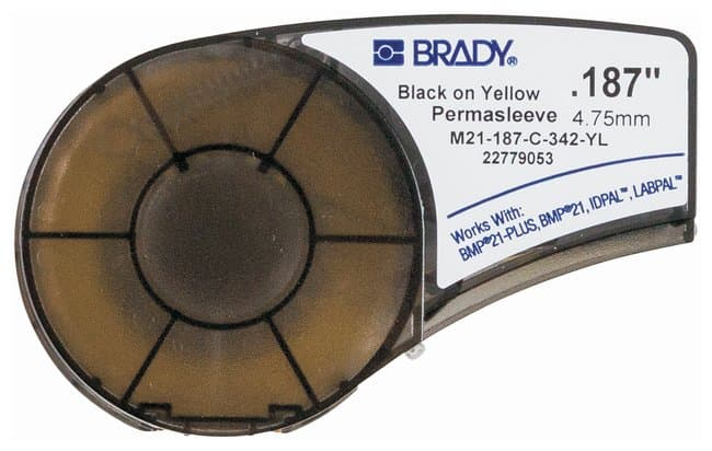 Brady™ PermaSleeve™ Polyolefin Label Cartridges for BMP™21 Series Printers