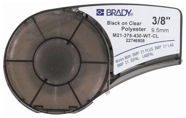 Brady™ Polyester Label Cartridges for BMP™21-PLUS and BMP™21-LAB Printers