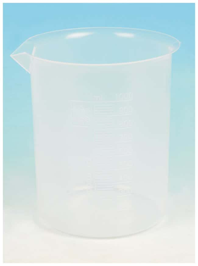 Eisco™ Polypropylene Beakers with Spout