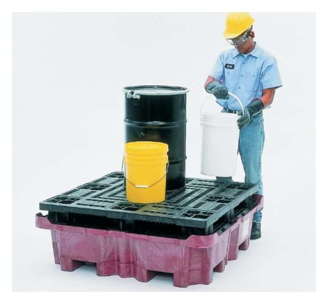 Youngstown Barrel  Four-Drum Pallet:Gloves, Glasses and Safety:Spill Control