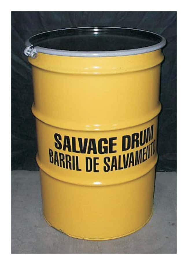 Youngstown Barrel & Drum Open Head Steel Drum :Gloves, Glasses and Safety:Hazardous