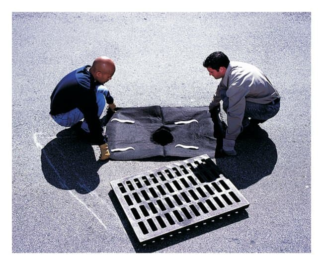 Youngstown Barrel  Drain Guards Oil and Sediment Plus:Gloves, Glasses and
