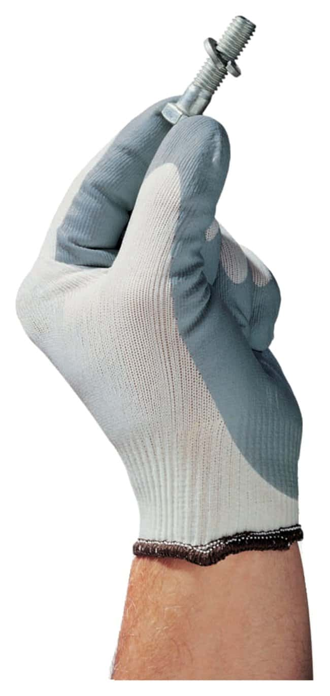 Ansell™ HyFlex™ 11-801 Foam Nitrile-Coated Gloves HyFlex Foam with Knitted Variable Stitch Design; Size: 9 Products