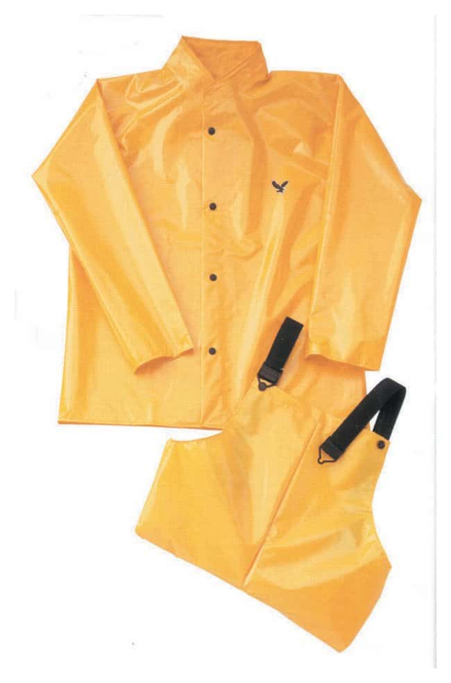 Tingley Iron Eagle Polyurethane Rainsuit Bib Overalls; Size: Large:Gloves,
