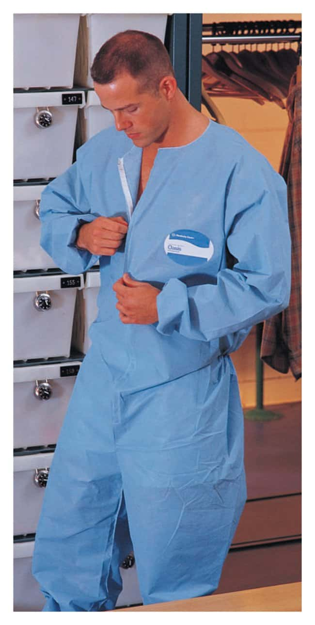 Kimberly-Clark Professional Oasis Undergarment Coveralls:Gloves, Glasses